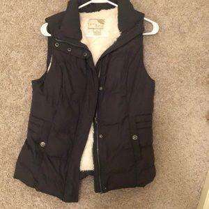Jackets & Blazers - Dark Gray Puffer Vest